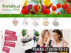 Miniaturka domeny www.kwiaty.pl