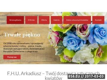 Zrzut strony Kwiaty sztuczne
