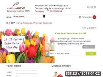 Zrzut strony Kwiaty z dostawą - Kraków i okolice, kwiaty on-line