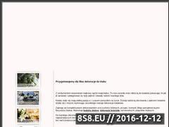 Miniaturka domeny www.kwiatyslubne.waw.pl