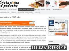 Miniaturka domeny kwota-wolna.waw.pl