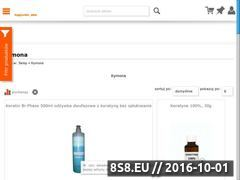 Miniaturka domeny www.kymona.com.pl