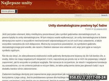 Zrzut strony Najlepsze unity stomatologiczne dla Twojego gabinetu