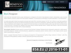 Miniaturka domeny www.l-beneficio.pl