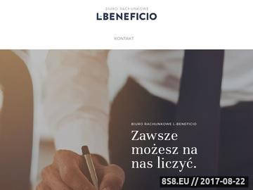 Zrzut strony Kompleksowa księgowość Kraków