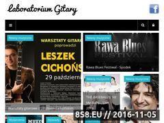 Miniaturka domeny www.laboratoriumgitary.pl