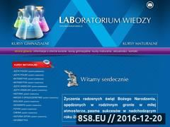 Miniaturka domeny laboratoriumwiedzy.pl