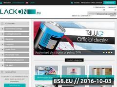 Miniaturka domeny www.lackon.eu