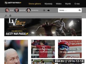 Zrzut strony Informacje sportowe