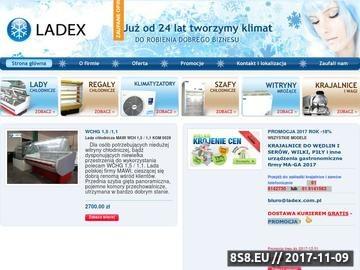 Zrzut strony Urządzenia chłodnicze - sklep Ladex