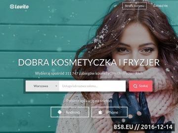 Zrzut strony Www.ladytime.pl farbowanie włosów