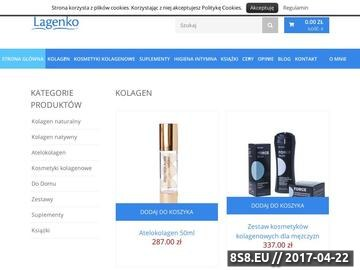 Zrzut strony Lagenko sklep z kolagenem