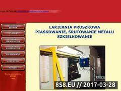 Miniaturka domeny www.lakiernia.waw.pl