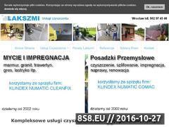 Miniaturka domeny www.lakszmi.com.pl
