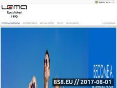 Miniaturka domeny www.lama.com.pl
