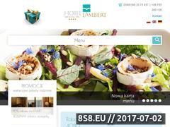 Miniaturka domeny lambert-hotel.pl