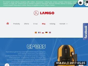 Zrzut strony Przyrządy pomiarowe, niwelatory laserowe i optyczne, teodolity - Lamigo.pl