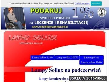 Zrzut strony Lampy Sollux na podczerwień