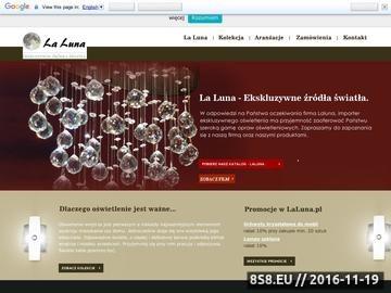 Zrzut strony Żyrandole kryształowe i oświetlenie salonu