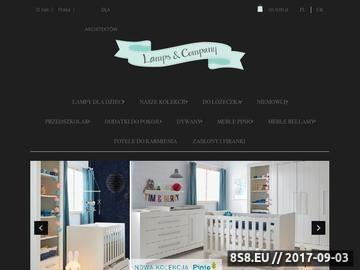 Zrzut strony Lampsandco.pl - lampy stojące