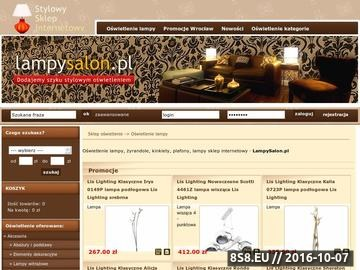 Zrzut strony Lampy Wrocław