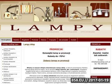 Zrzut strony Lampy stylowe z mosiądzu