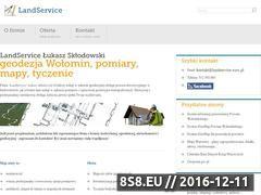 Miniaturka domeny landservice.waw.pl