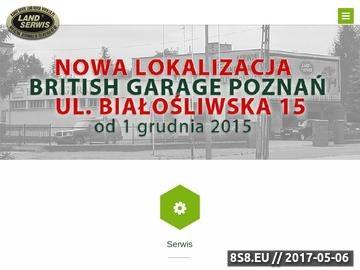 Zrzut strony LandSerwis Poznań
