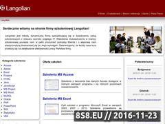 Miniaturka domeny www.langolian.pl