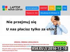 Miniaturka domeny www.laptoprepaircenter.pl