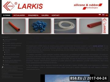 Zrzut strony LARKIS wyroby z gumy
