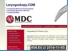 Miniaturka domeny laryngoskopy.com