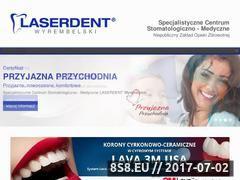 Miniaturka domeny www.laserdent-poznan.pl