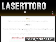 Miniaturka domeny laserttoro.pl