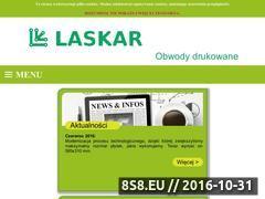 Miniaturka domeny www.laskar.com.pl