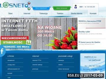 Zrzut strony Telwizja cyfrowa Lidzbark Warmiński