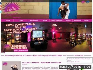 Zrzut strony Salsa Kraków