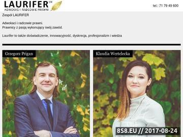 Zrzut strony Adwokat Wrocław