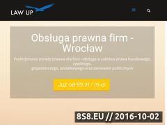 Miniaturka domeny law-up.pl