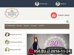 Miniaturka domeny www.lawendowaszafa24.pl