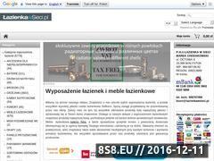 Miniaturka domeny www.lazienkawsieci.pl