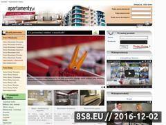Miniaturka domeny www.lazienki.apartamenty.pl