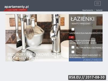 Zrzut strony Łazienki