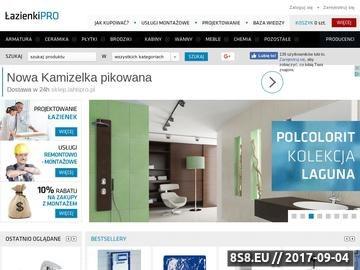 Zrzut strony Płytki, baterie i meble łazienkowe - ŁazienkiPRO