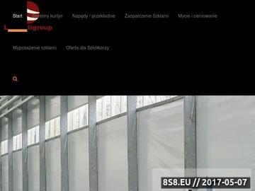Zrzut strony LC Hortigroup - zasłony do szklarni