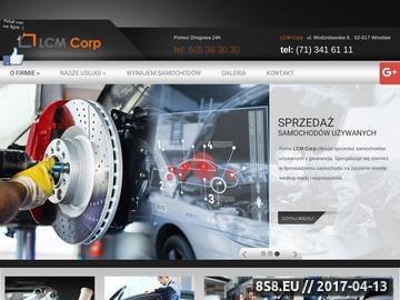 Zrzut strony Oferujemy usługi samochodowe