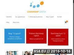 Miniaturka domeny www.leadership-center.pl