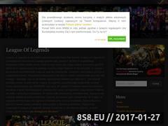 Miniaturka domeny league-of-legends.com.pl