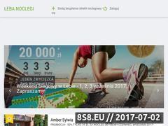 Miniaturka domeny www.lebanoclegi.pl