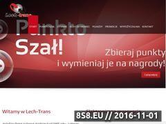 Miniaturka domeny lech-trans.pl